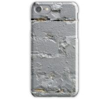 Detail of a brick wall close-up iPhone Case/Skin