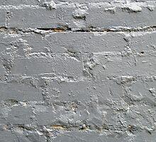 Detail of a brick wall close-up by vladromensky