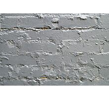 Detail of a brick wall close-up Photographic Print