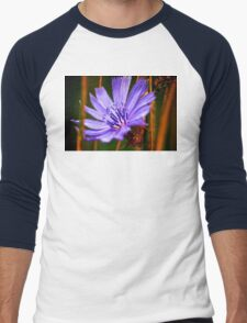 Flower Men's Baseball ¾ T-Shirt