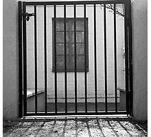 Window Jail Photographic Print