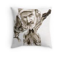 Tremors Throw Pillow