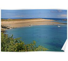 Shell Bay, Herm Poster