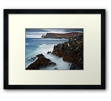 Glen Bay Donegal Framed Print