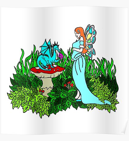 Mother to Be Fairy Poster