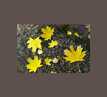 Several large and small yellow autumn maple leaves Unisex T-Shirt