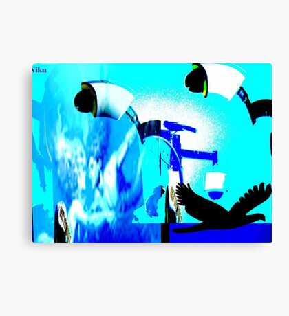 Fly With me Canvas Print