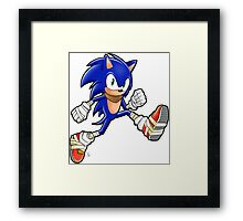 Sonic Boom Adventure Framed Print