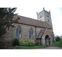 St Andrews Church, Eakring, Nottinghamshire Photographic Print