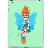 Floating in Flowers iPad Case/Skin