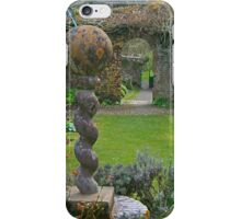 The Walled Garden, Hartland Abbey iPhone Case/Skin