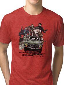 """Poliziottesco"" Italian Movies Tri-blend T-Shirt"