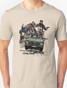 """Poliziottesco"" Italian Movies T-Shirt"