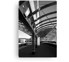 Bells Bridge BW Canvas Print