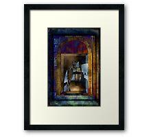 Time Gate Framed Print