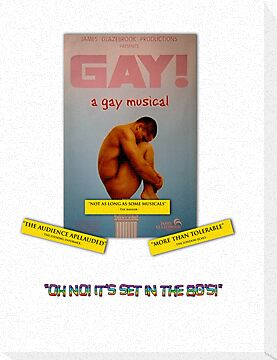 GAY! A GAY MUSICAL by Dave DelBen