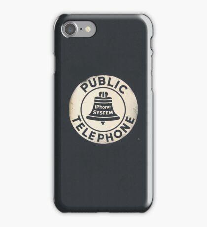 Public IPhone iPhone Case/Skin