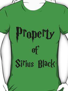 Property of Sirius Black T-Shirt