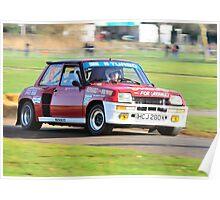 Renault R5 Turbo Poster