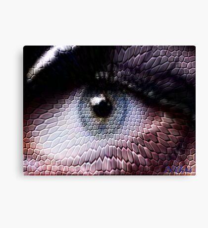 wild animals-eye Canvas Print