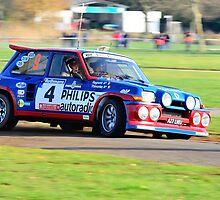 Jean Ragnotti Renault 5 Maxi by Willie Jackson