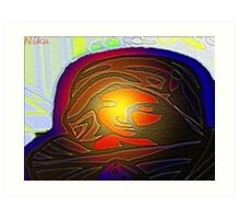 faith-Mary Art Print