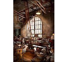 Machinist - I like big tools Photographic Print