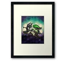 Kitsune Games Framed Print