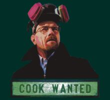 Breaking Bad - Cook Wanted by Tim Topping