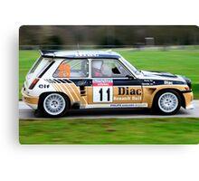 Francois Chatriot Renault 5 Maxi Canvas Print