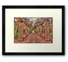 Walk The Path Framed Print