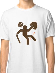 Arrow to the Knee - Sticker Classic T-Shirt