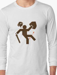 Arrow to the Knee - Sticker Long Sleeve T-Shirt
