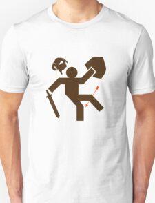Arrow to the Knee - Sticker Unisex T-Shirt