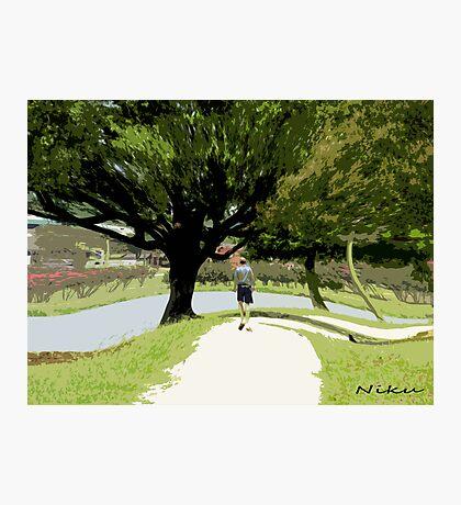 Nature-long walk Photographic Print
