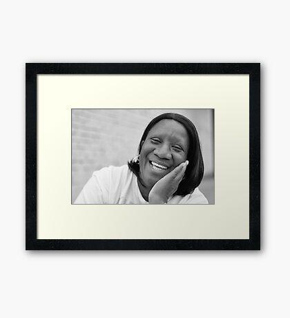 Linda RO Framed Print