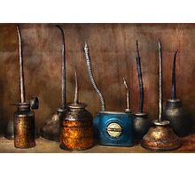 Machinist - Tools - Lubircation Dispensers  Photographic Print