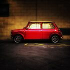 Wee Red Mini Cooper by Den McKervey