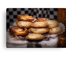 Sweet - Cookies - Cookies and Danish Canvas Print