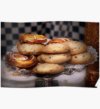 Sweet - Cookies - Cookies and Danish Poster