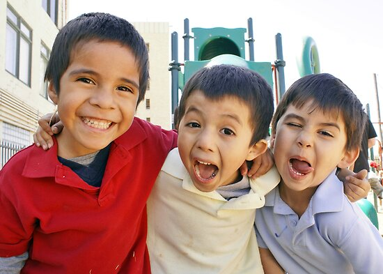 3 Boys Crazy Faces RO by Slaughter58