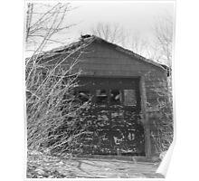 Abandoned Garage 2 Poster