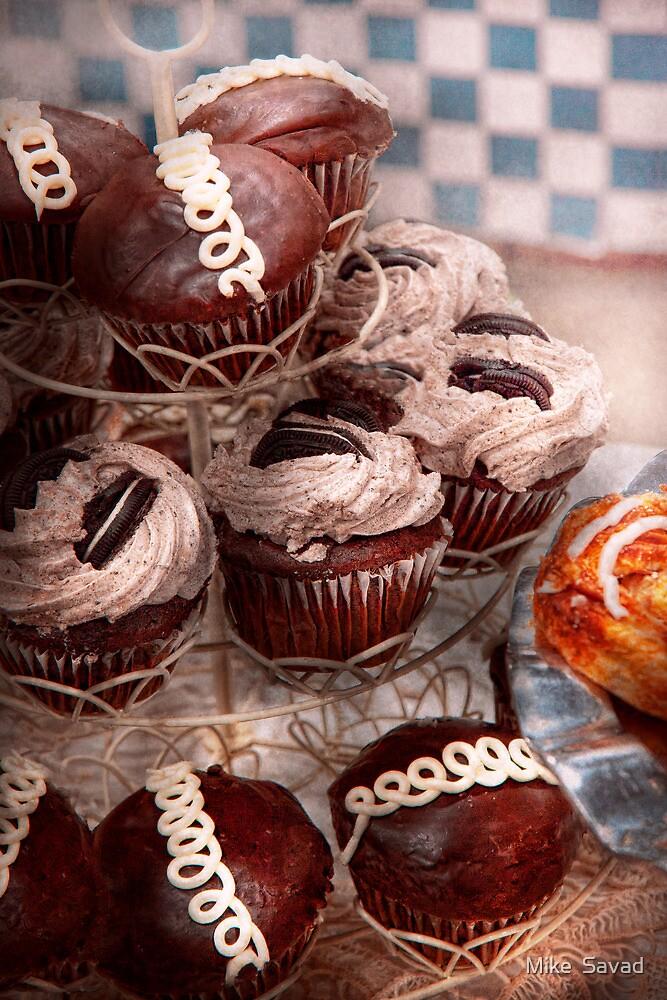 Sweet - Cupcake - Cupcake mountain by Mike  Savad