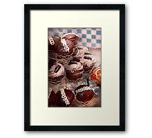 Sweet - Cupcake - Cupcake mountain Framed Print