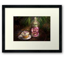 Sweet - Cupcake - Eat Me Framed Print