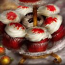 Sweet - Cupcake - Red velvet cupcakes  by Mike  Savad