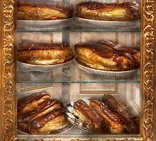 Sweet - Eclair - Chocolate Eclairs by Mike  Savad