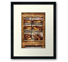 Sweet - Eclair - Chocolate Eclairs Framed Print