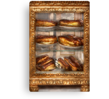 Sweet - Eclair - Chocolate Eclairs Canvas Print