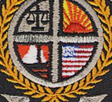 Long Branch Police Sticker